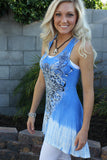 Baby Blue Hi/Lo Tank Dress