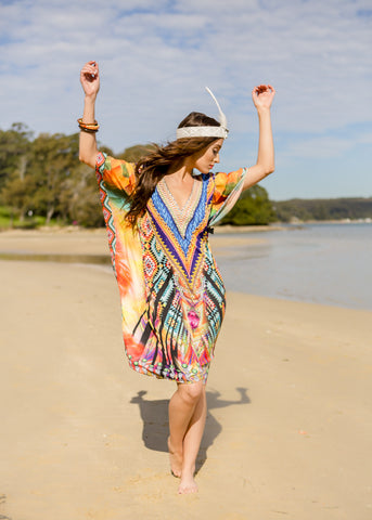 AZTEC KAFTAN - Spray Tan Wear