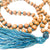 Sandalwood and Druze Marker Beads 108 Mala