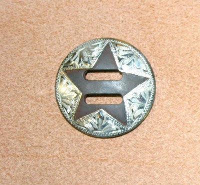 C10 1 1/2 inch slotted concho