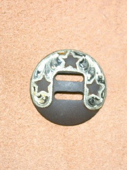 C194  1 1/2 inch slotted concho
