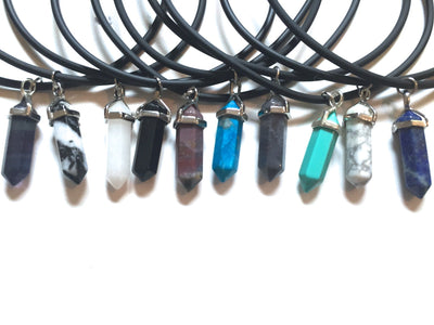 Daria Vegan Leather Choker NEW STONES