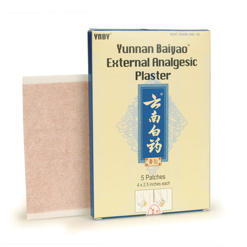 yunnan baiyao pain relieving patch