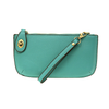 Joy Susan Crossbody Wristlet Clutch Mayan Green