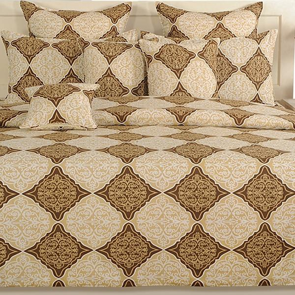 Canopus Gold Diamond Bed Linen Set - Flickdeal.co.nz