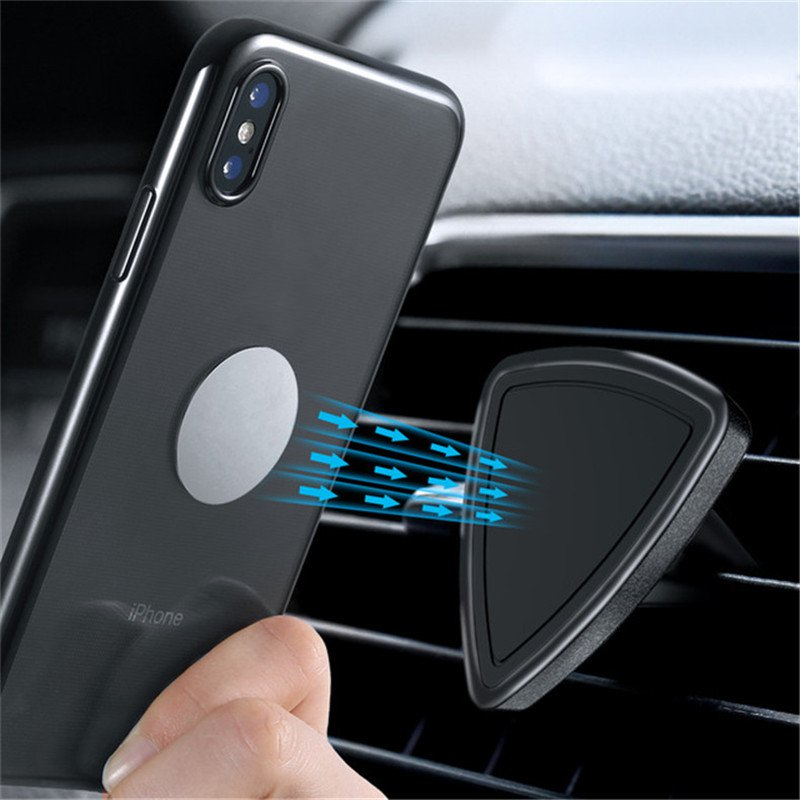 KISSCASE Powerful Magnetic Adsorption Car Mount Air Vent Holder for Xiaomi Mobile Phone