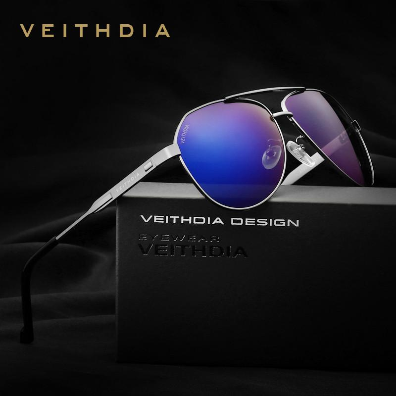 VEITHDIA Brand Best Men's Sunglasses Polarized Mirror Lens Driving Fishing Eyewear Accessories Driving Sun Glasses For Men 3562 - Flickdeal.co.nz