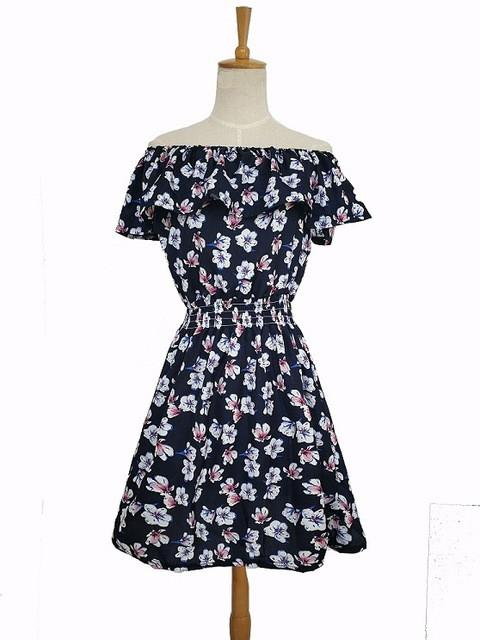 New Spring Summer Floral Print Dress for women -10 Designs - Flickdeal.co.nz