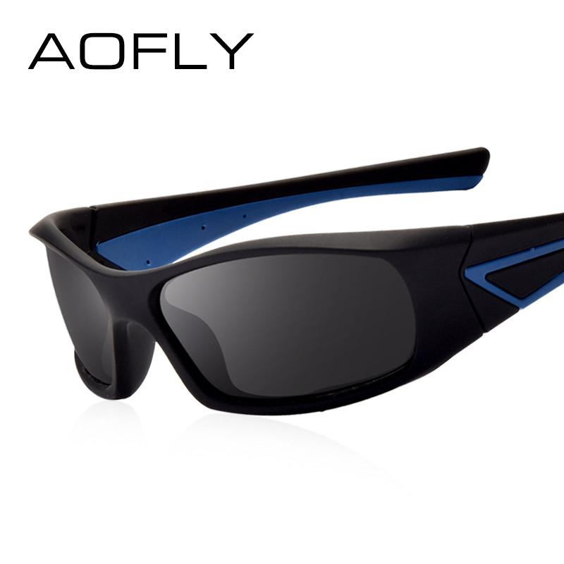 AOFLY Polarized Men's Anti-Glare Eyeglasses Driving Sunglasses AFO21 - Flickdeal.co.nz