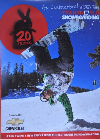 20 Tricks Volume 1 Snowboard DVD