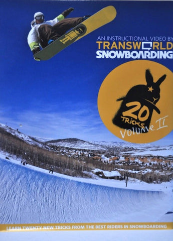 20 Tricks Volume 2 Snowboard DVD