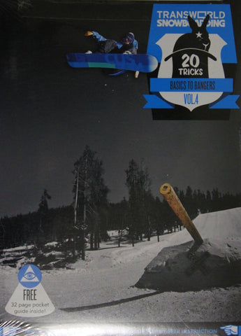 20 Tricks Volume 4 Snowboard DVD