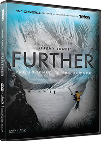 Jeremy Jones Further DVD and Blu-ray Combo