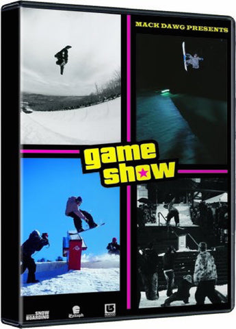 Game Show Snowboard DVD with FREE CD