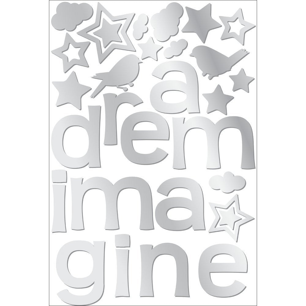 Dream Imagine Mirror Wall Decals Fun Rooms For Kids