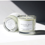 Minimal Luxury Design / Essential Oil Candle for Throat Chakra