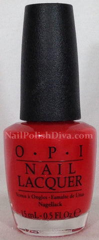 OPI I Stop For Red Nail Polish A74