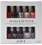 OPI Coca Cola 10 Pack of Style Nail Polish DDC08