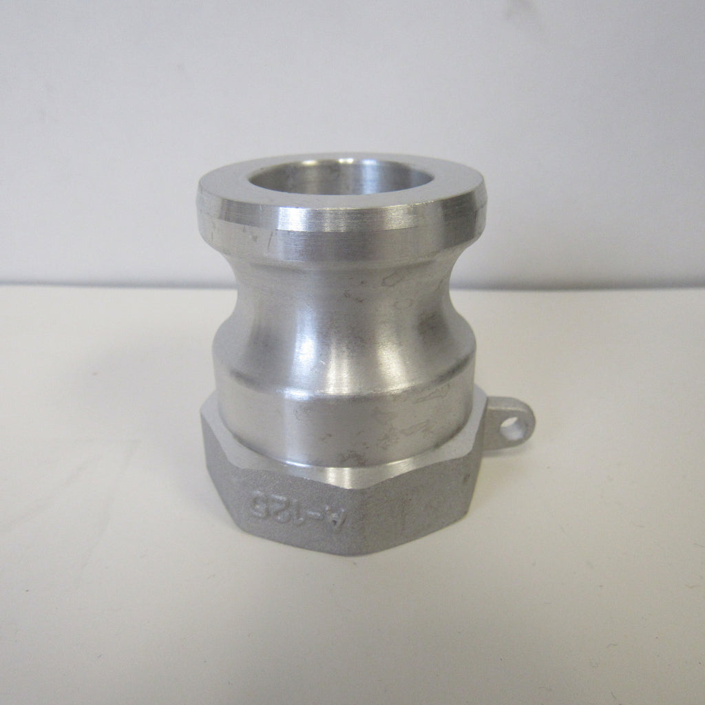 Aluminum Cam & Groove Fitting A075 Male Camlock X Female NPT Thread - 3/4 Inch