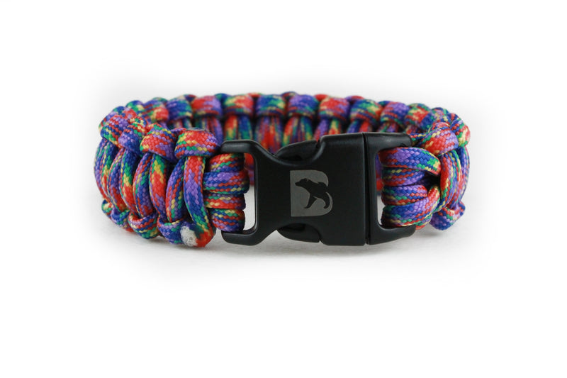 Carnival Paracord Bracelet - Bearbottom Clothing