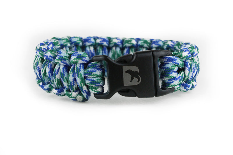 Peacock Paracord Bracelet - Bearbottom Clothing