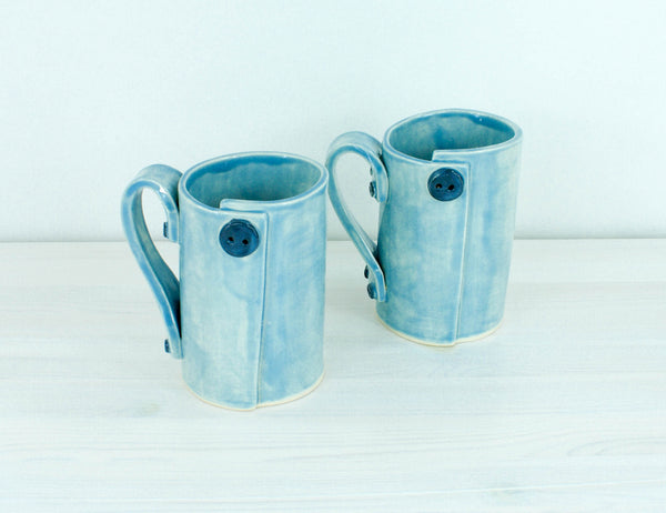 Set of Button Mugs