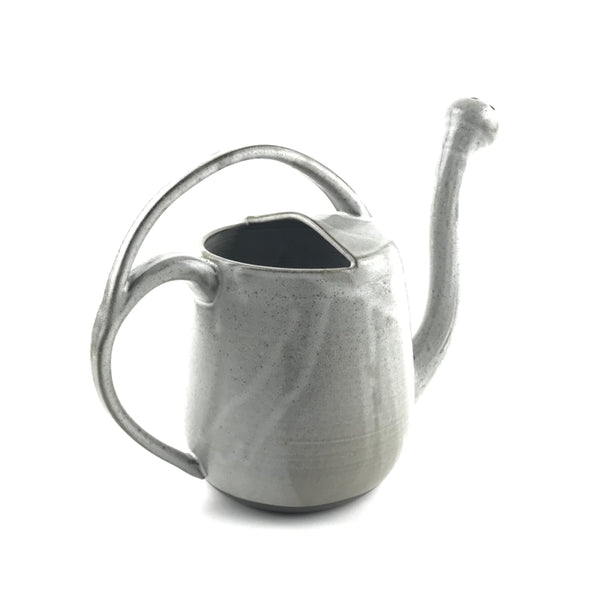 White Watering Can