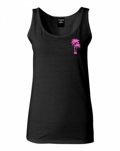 Palm Tree Pocket Tank