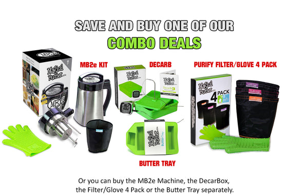 MagicalButter Combo Deals - Decarb Device, Butter Machine, Filter Bags