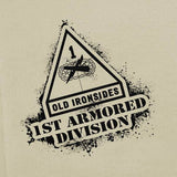First Armored Division Stencil T-Shirt