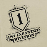 1st Infantry Division Stencil T-Shirt