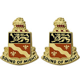 250th Signal Battalion Unit Crest (Sound of Might)