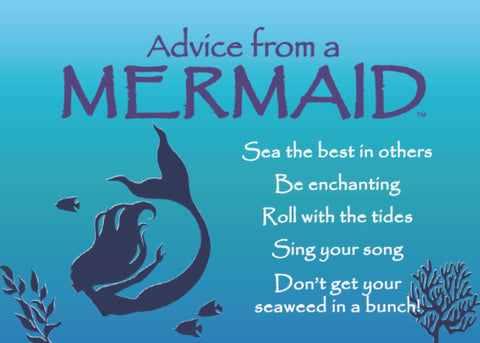 Advice from a Mermaid Jumbo Magnet