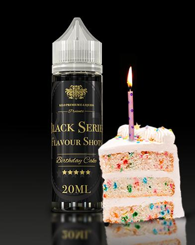 BIRTHDAY CAKE - KILO BLACK SERIES  Flavor Shot 60ml :- VapeChimp - GREECE & CYPRUS E-liquid Wholesale
