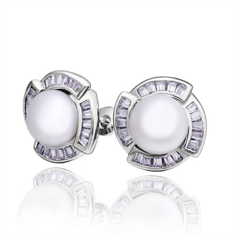 "Earrings,Jewelry - Tina ""Little One"" Pearl Earrings"