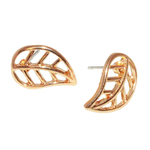 "Jewelry, Earrings, Stud Earrings - Brooklyn ""Sublime"" Leaf Stud Earrings"