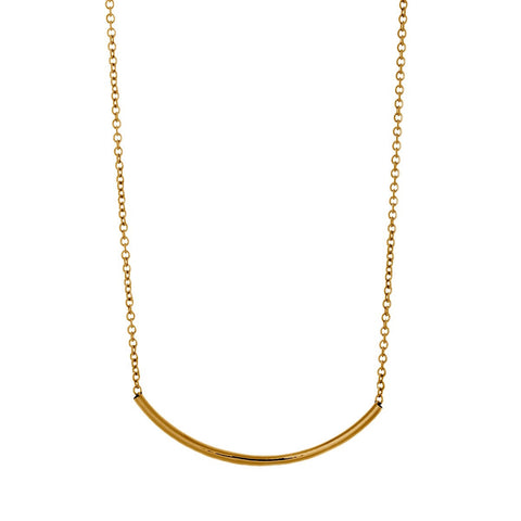 "Jewelry, Necklace, Pendant - Peyton ""Royal"" 18k Yellow Gold Plated Necklace"