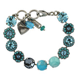 Mariana Jewelry Bliss Bracelet, Silver Plated with Swarovski Crystal, Nature Collection MAR-B-4084 M2672 SP