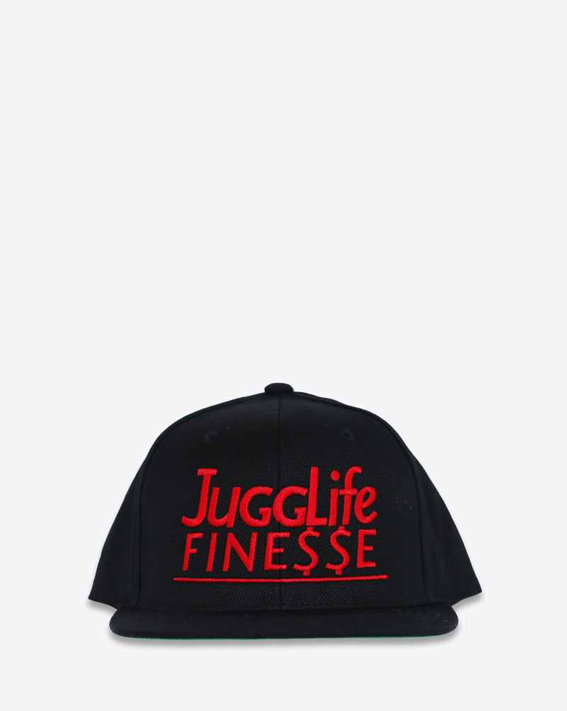 Jugg Life Finesse Snapback Red