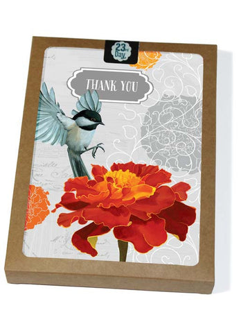 Chickadee & Marigold Boxed Cards