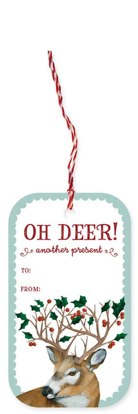 Oh Dear Holiday Gift Tags