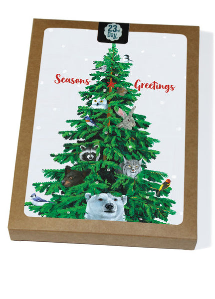 Critter Tree Boxed Cards