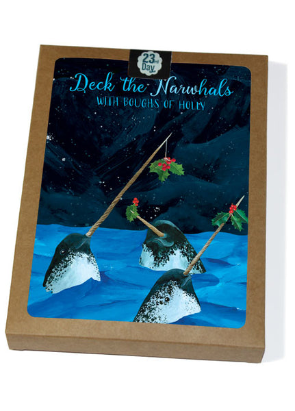 Narwhal Boxed Holiday Cards