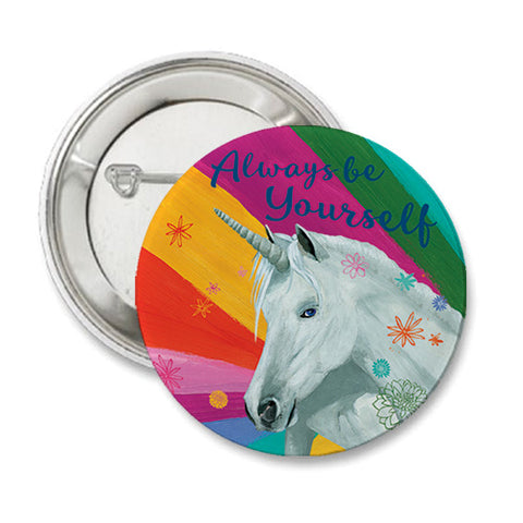 Unicorn Round Button