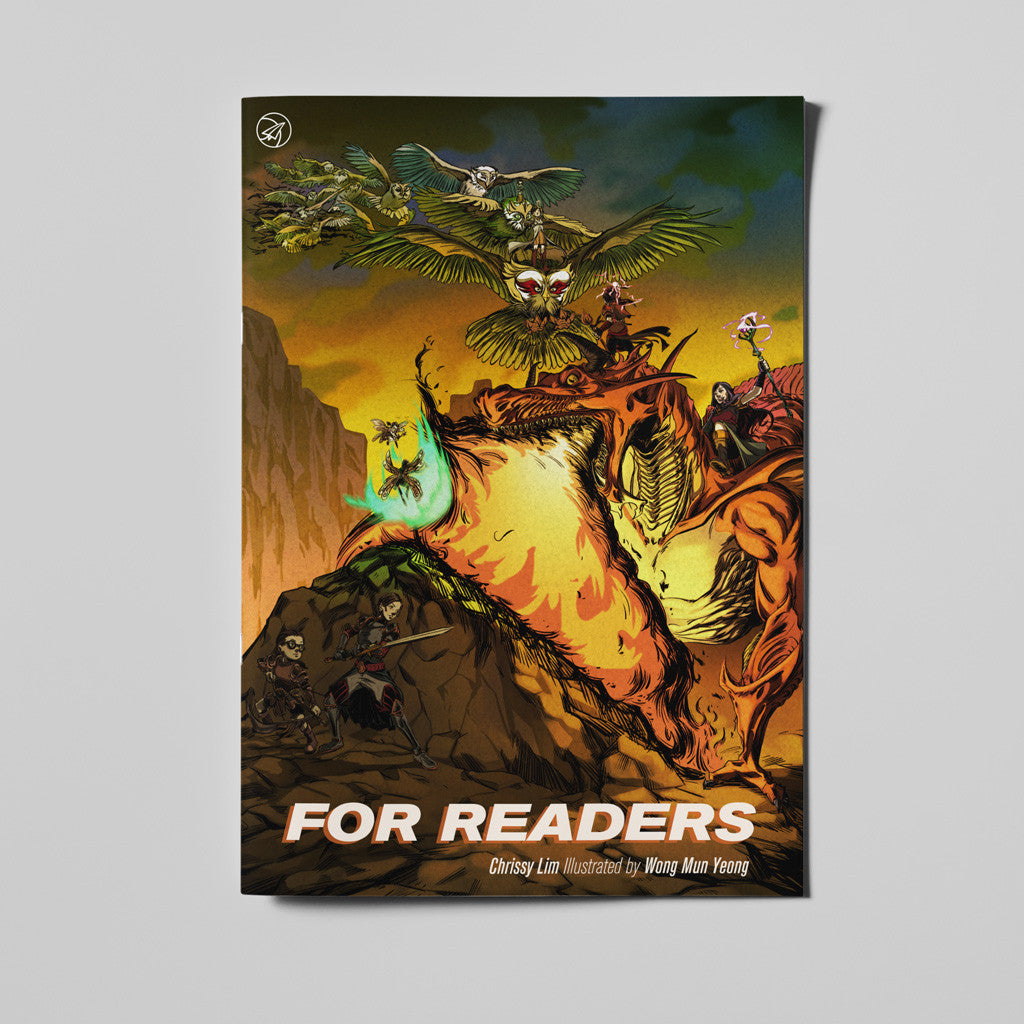 """For Readers"" - 20pp Graphic Short Story"
