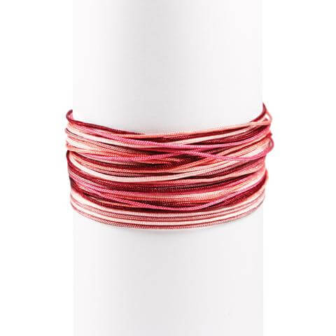 Pack 3 Pulseras Red Fruits Plata - singularu