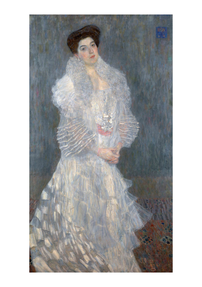 Gustav Klimt - Portrait of Woman in White