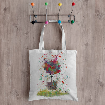 Up Canvas Tote Bag
