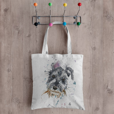 Mel Schnauzer Canvas Tote Bag