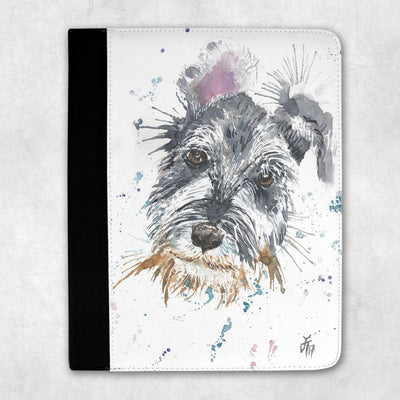 Mel Schnauzer Folio Tablet Case